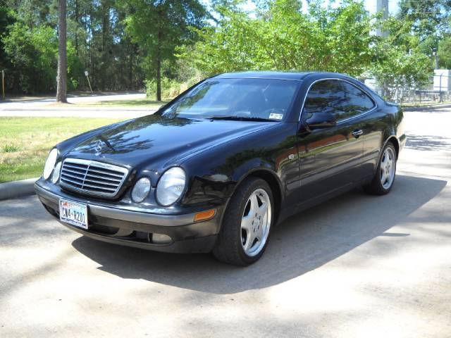 1999 mercedes benz clk class clk320 for sale in houston