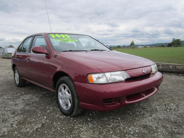 1999 nissan sentra gxe for sale in puyallup washington classified. Black Bedroom Furniture Sets. Home Design Ideas