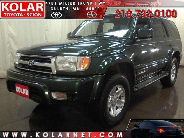 1999 toyota 4runner limited for sale in duluth minnesota classified. Black Bedroom Furniture Sets. Home Design Ideas