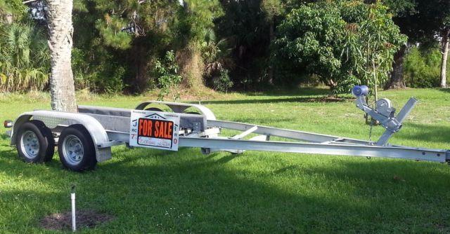 19ft aluminum float on boat trailer for sale in fort pierce florida classified. Black Bedroom Furniture Sets. Home Design Ideas