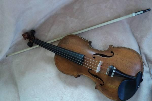19th Century FiddleViolin Mother of Pearl - $1500