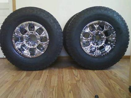 Rims  Tires Package on 1 100 Off Road Wheel Tire Package Mkw M85 Rims With Nitto Terra