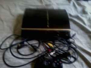 1st gen ps3 with free game need to sale asap - $150