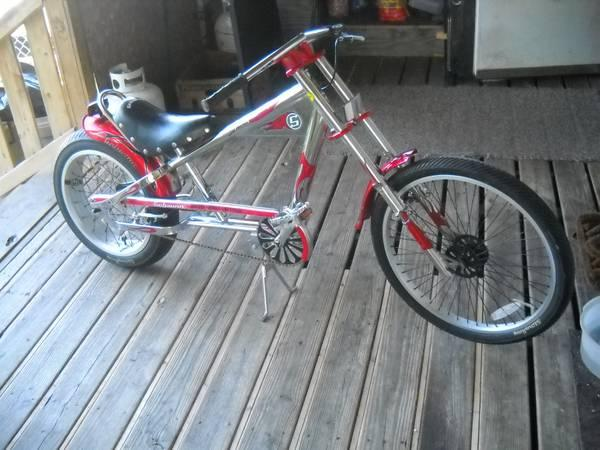 Bike Pegs For Sale COUNTY CHOPPER BIKE WITH