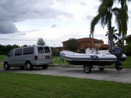 2 0 0 5 AB Inflatable Boat 15 Feet - Yamaha 60hp