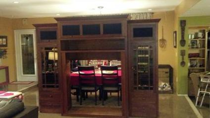 $2,000 Ethan Allen Entertainment Center