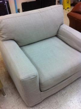 Pleasant Obo Quatrine New Yorker Linen Slipcovered Club Chair For Uwap Interior Chair Design Uwaporg