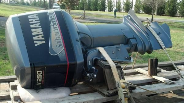 2 - 1999 Yamaha 250 fresh/saltwater boat motors with