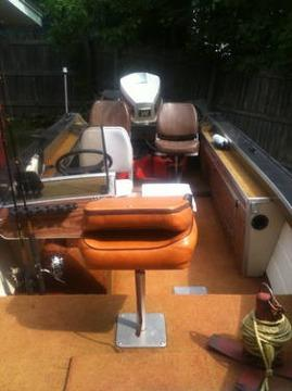 1981 Sylvan Fishing Boat 16 Ft 90hp Jhonson For Sale In