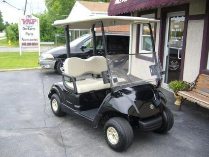 2008 yamaha drive ydre 48 volt electric golf cart black for Yamaha golf cart repair near me