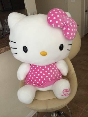 2-3ft hello kitty teddy bear - $100