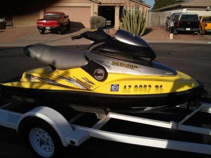 1999 seadoo xp with trailer scottsdale for sale in phoenix arizona classified. Black Bedroom Furniture Sets. Home Design Ideas