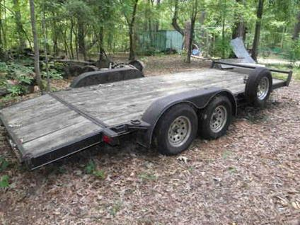 custom 20ft car hauler trailer for sale in summerville south carolina classified. Black Bedroom Furniture Sets. Home Design Ideas