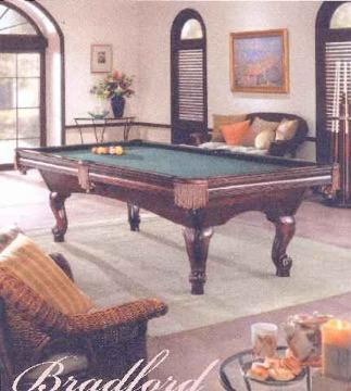 POOL TABLE This Is An Brunswick Bradford That Was Delivered And - Brunswick bradford pool table