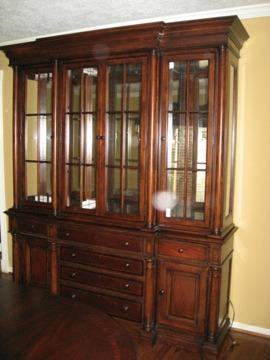 thomasville fredericksburg dining room set perfect for