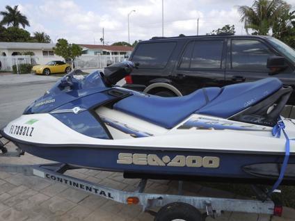 $2,600 OBO, 2002 Seadoo GTX 4 Tec--Jetski For Sale