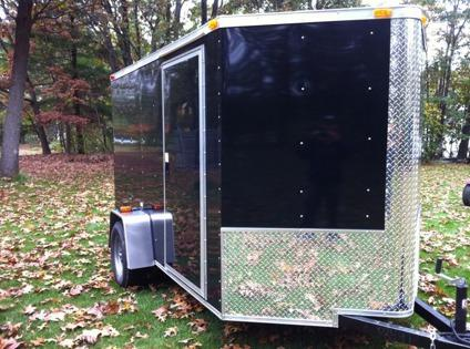 $2,750 6x10 Enclosed V nose cargo trailer