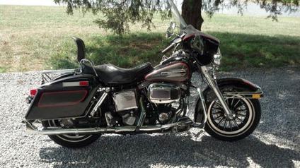 $2,800, 1980 Harley-Davidson FLH Classic