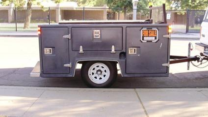 Utility Truck Beds For Sale >> OBO Truck Service Bed Trailer for Sale in Chandler, Arizona Classified | AmericanListed.com