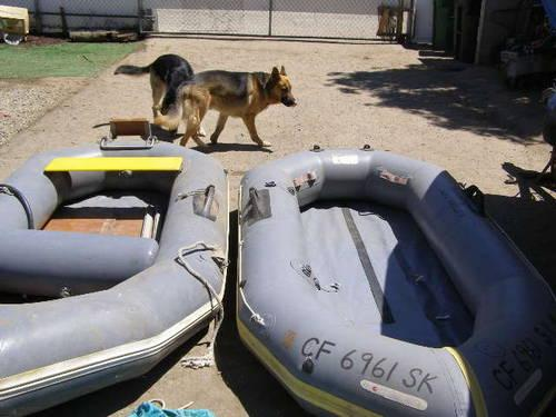 2 Avon Redcrest 9 Foot Dingy Raft Inflatable For Sale In