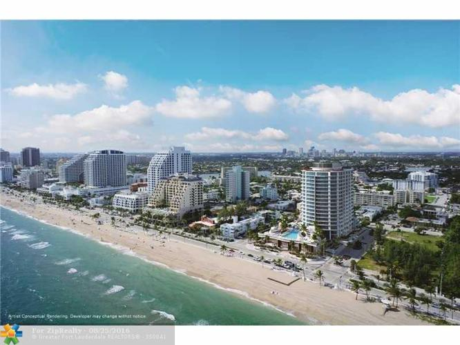2 Bed 2 Bath Condo 701 N FORT LAUDERDALE BEACH BLVD