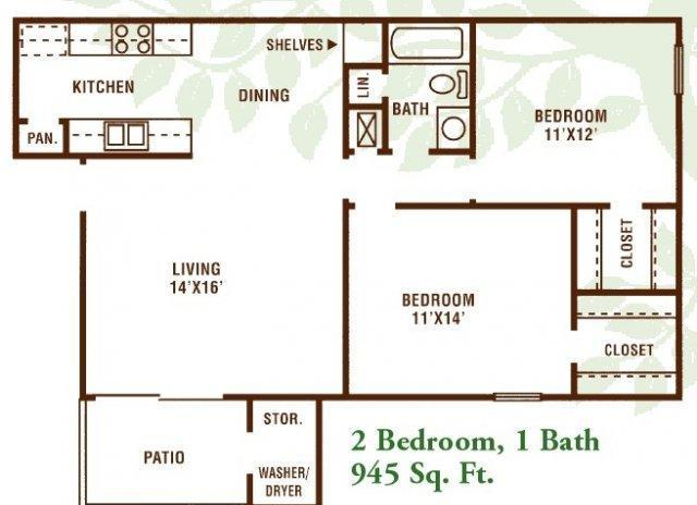 2 Bedroom 1 Bath Apartment Available For Rent In Bosco Louisiana Classified