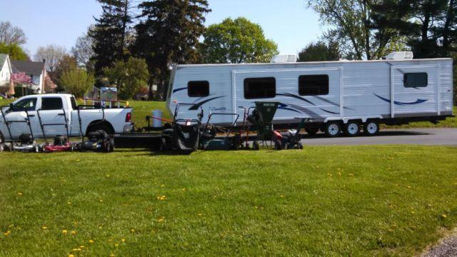 2 bedroom 40 39 rv trailer for sale in williamsport maryland classified for Two bedroom travel trailers for sale