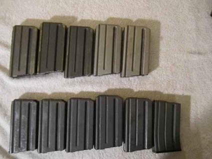 $2 BERETTA 92F HI CAP MAGS $40, have 12 .new and used,