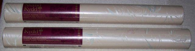 2 Brand New Rolls Shand Kydd Vinyl Ready Pasted Wallpaper
