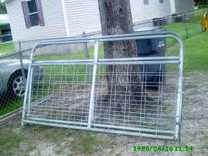 2 Cattle Gates - Galvanized - $130 (Davenport/Haines