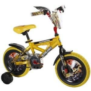 2 Children's Bikes CARS and BUMBLEBEE 12in wheels
