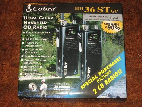 2-COBRA--HH36STGP--CB RADIO'S--NEW IN THE BOX.