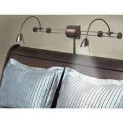 2 Dainolite Dlhaw101 Over Bed Reading Light For Sale
