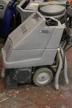 2 different Advance Terra industrial Vacuums
