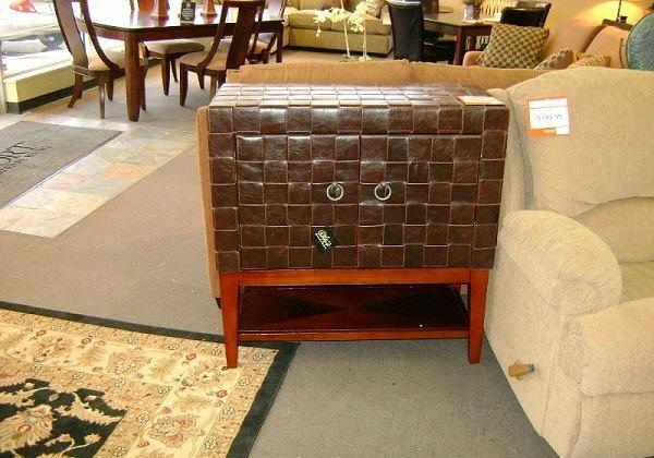 2 Door Leather Cabinet McKnight Rd Pgh for Sale in