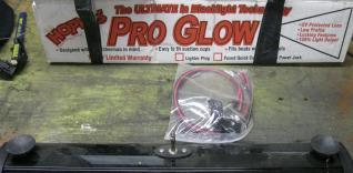 2 Hoppys blacklights pro power fishing lights - $160
