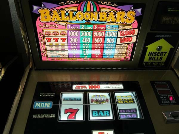 Igt slot machine battery location