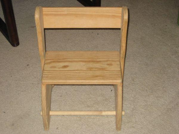 2 In 1 Wooden Toddler Step Amp Sit Flip Stool Friendswood