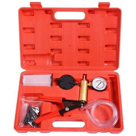 2 in1 Brake Bleeder Bleeding & Vacuum Pump Tester Kit