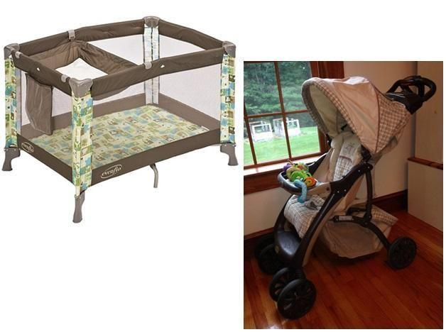 2 Items!! Pack 'N Play w/Changer+Stroller * Daycare or
