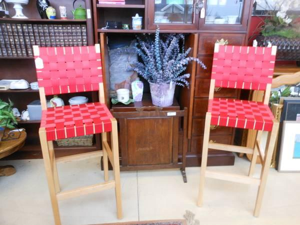 2 Jens Risom Style Maple Bar Stools Chairs For Sale In Jackson Michigan Classified