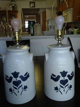2 Lamps Country Decor For Sale In Carpentersville Illinois Classified
