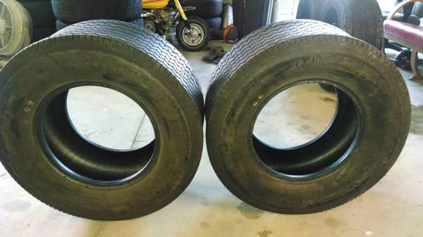 2-MICKEY THOMPSON SPORTSMAN TIRES 29x12.5x15 - $200