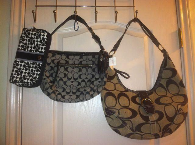 f024c22f97 2 New Authentic COACH bags and 1 COACH Clone Purse for sale in Laredo, Texas
