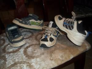 ab7bb2b9d5 2 nice boys Nike & Sketcher tennis shoes size 13 - (Roby) for Sale ...
