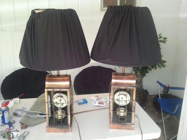 2 old lamps - $50 Warner Robins