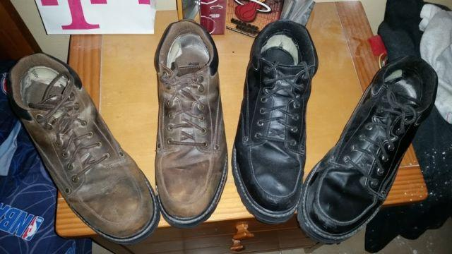 skechers men's mariner utility boot black