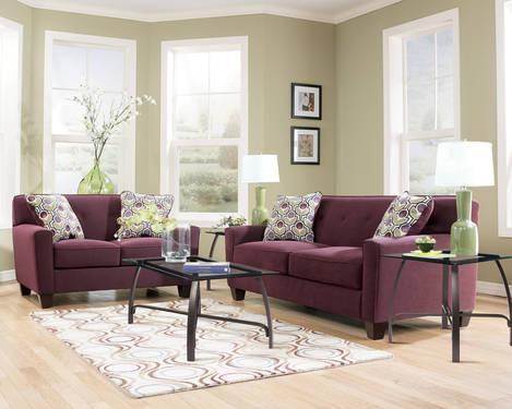 2 Pc Danielle Eggplant Sofa Set Furniturequeen Com For Sale In Katy Texas Classified
