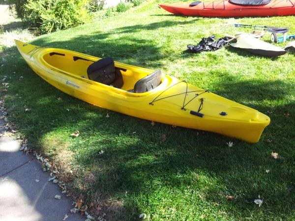2 Perception kayaks - $450