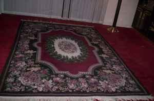 2-piece decorator rug set - $50 (Lakeland)